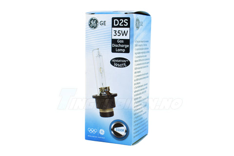 D2S GENERAL ELECTRIC WHITE Xensation 5500K +20% Xenon 1stk.