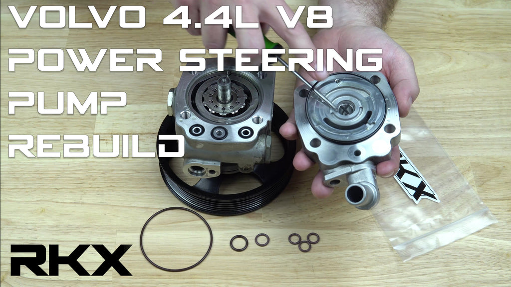 Fix a leaking Volvo XC90 , S80 4.4L V8 power steering pump; the cheap and easy way