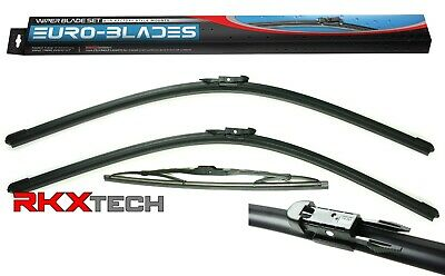 RKX Front + Rear Windshield Wiper Blades set of 3 for Audi Q7 26  26  13 06-15