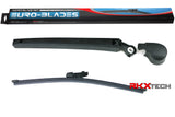 EURO-BLADES Rear Wiper Arm with Blade for VW Atlas