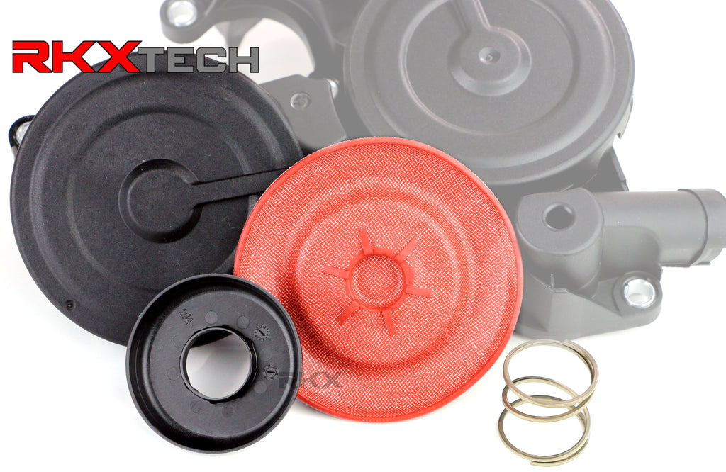 RKX VW & Audi  2.0T TFSI  Upgraded PCV Valve Repair Kit