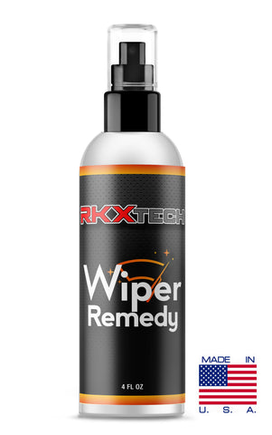 RKX Wiper Remedy - Treatment for wiper blades. Get the maximum life out of your wiper blades! Stop wiper blade streaking and noise.