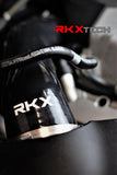 RKX audi A6 and A7 C7 C7.5 silicone air intake hose OEM filter compatible