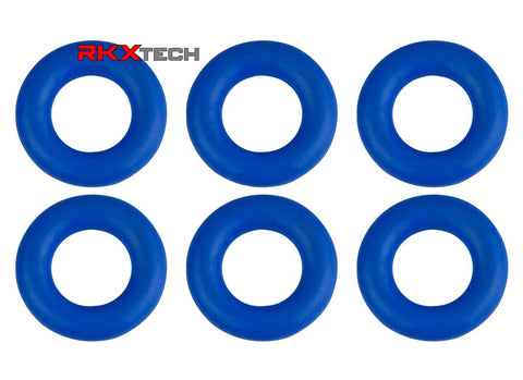RKX Fuel Injector O ring Seal X6 for Volkswagen and Audi 3.6L VR6 Engines