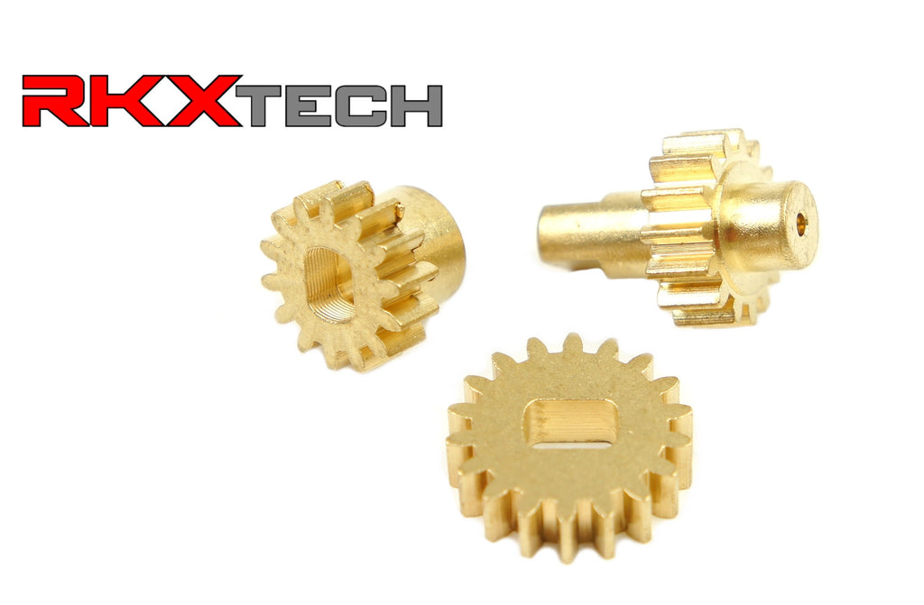 RKX Audi A8 D3 MMI Flip Screen gear replacement Kit. 3 upgraded metal gears