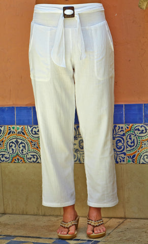 A300 Long Pants Coconut Buckle