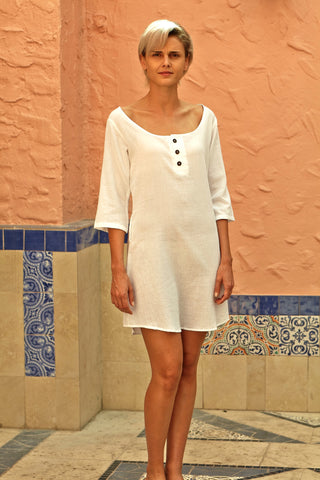 A150BIS Open Neck Long Tunic