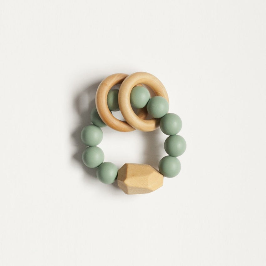 The Henry - Teething Ring // Sea Glass
