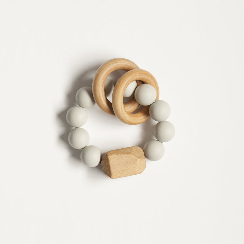 The Henry - Teething Ring // Gray