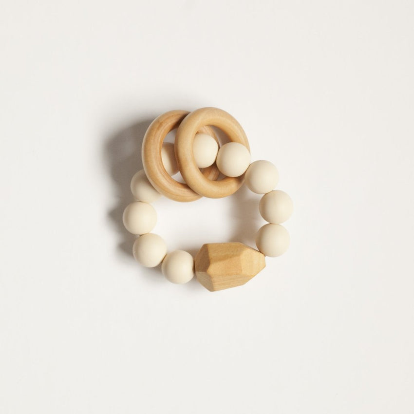The Henry - Teething Ring // Cream