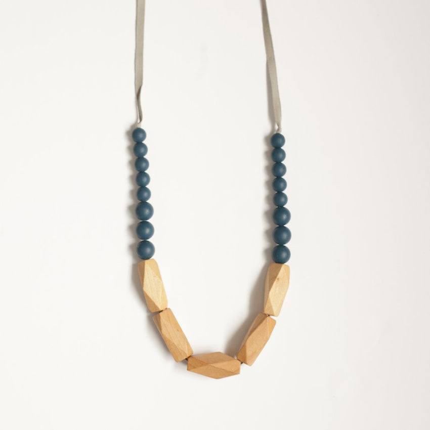 The Annie - Teething Necklace // Midnight