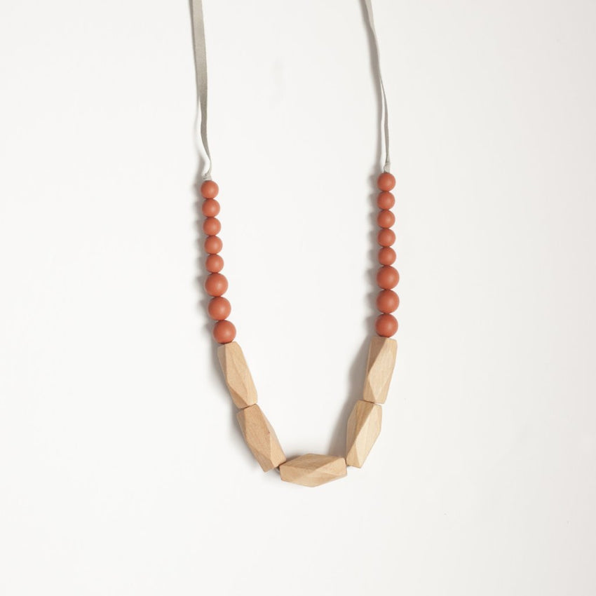 The Annie - Teething Necklace // Ginger
