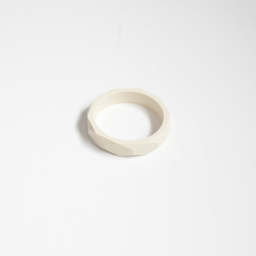 The Mercy - Bangle Bracelet // Cream