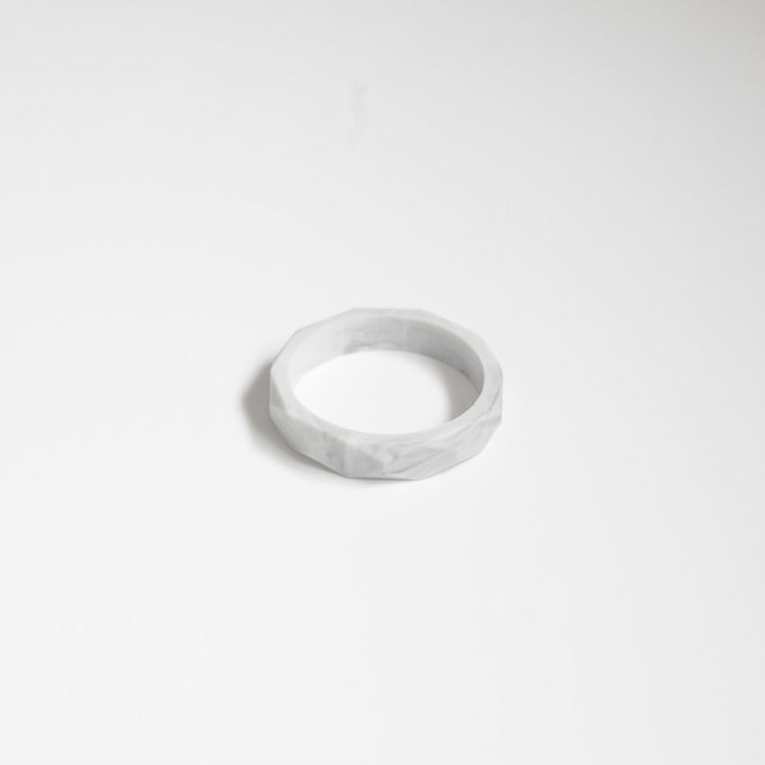 The Mercy - Bangle Bracelet // Marble