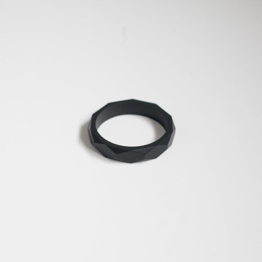 The Mercy - Bangle Bracelet // Black