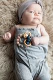The Charlie - Teething Ring // Blush + Midnight
