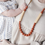 The Allie - Teething Necklace // Ginger