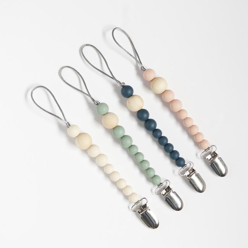 The Josie Mini - Paci-Clip // Sea Glass