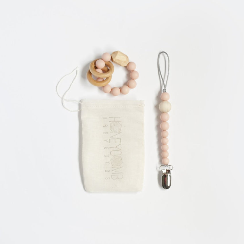 Baby Teething Set // Blush