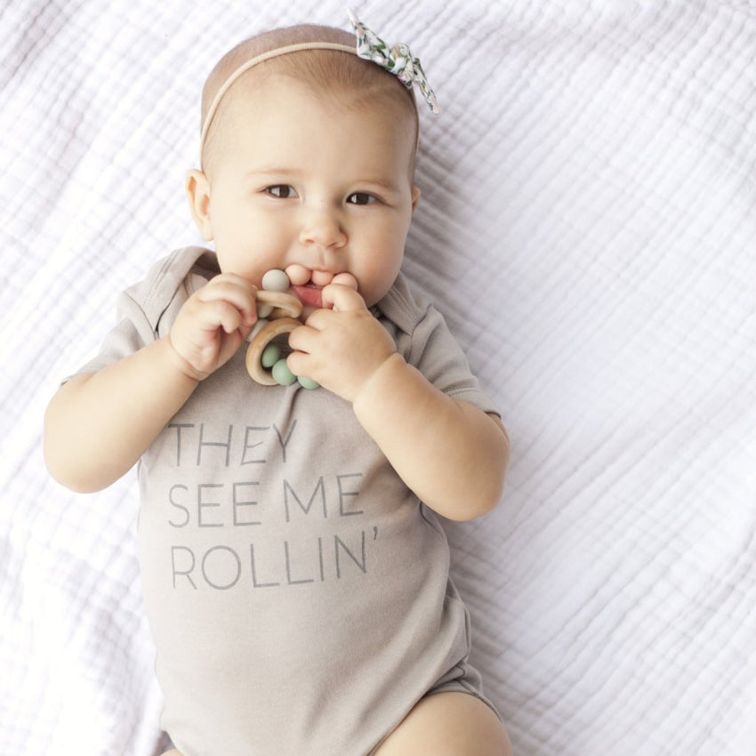 """They See Me Rollin"" Onesie"