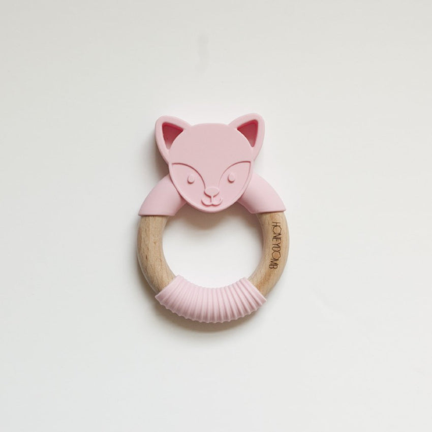 Woodland Friends - Teething Ring // Fox