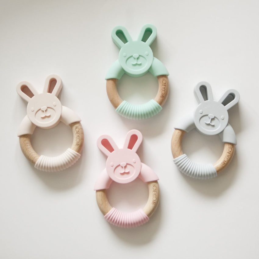 Woodland Friends - Teething Ring // Bunny