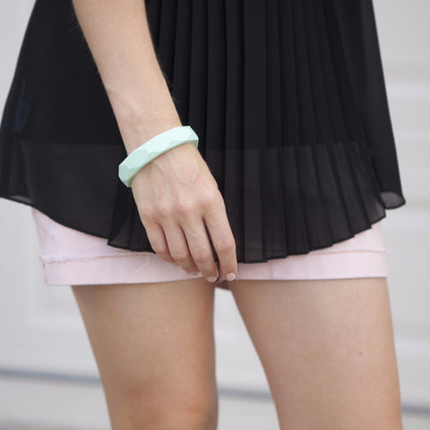 The Mercy - Bangle Bracelet // Mint