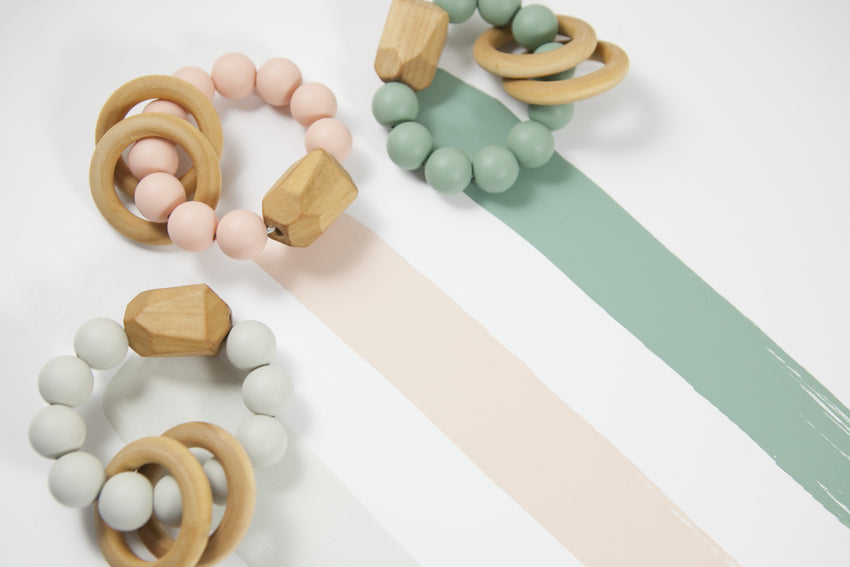 The Henry - Teething Ring // Blush