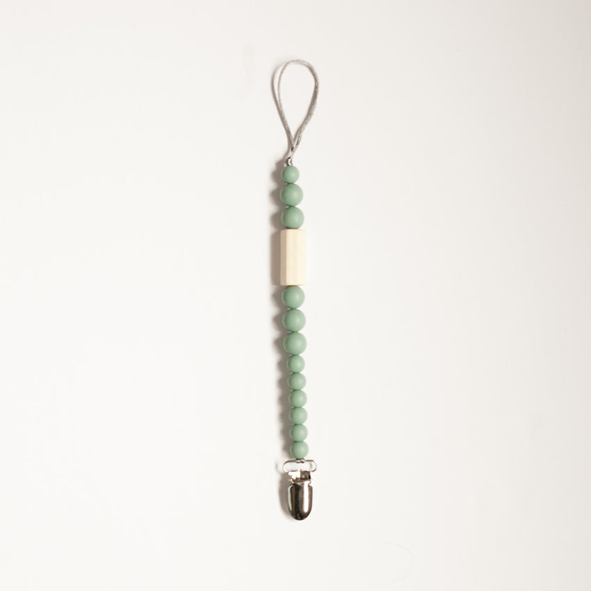 The Avery - Paci-Clip // Sea Glass