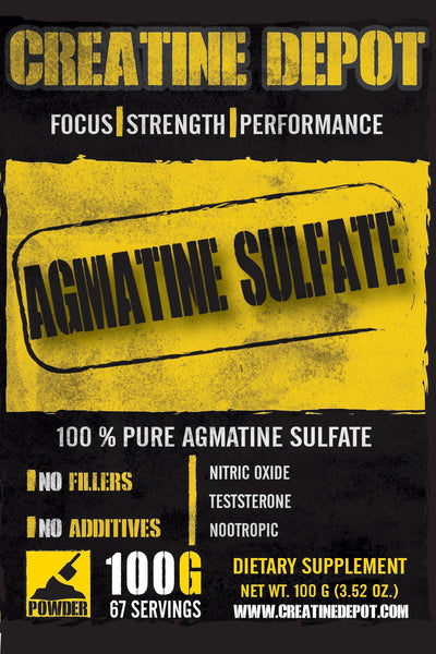 Creatine Depot - Agmatine Sulfate 100 grams
