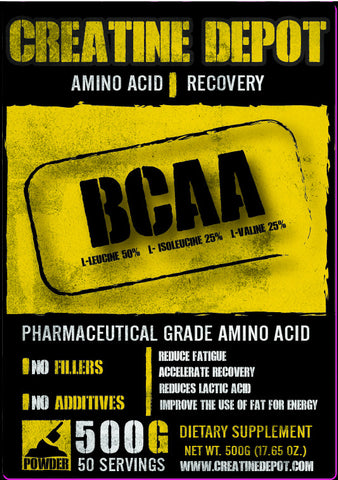 Creatine Depot BCAA 500 grams
