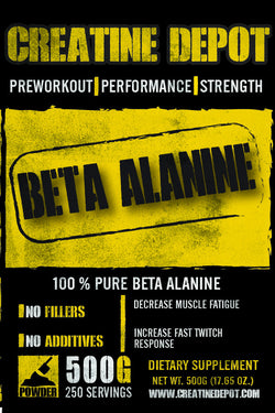 Creatine Depot Beta Alanine 500 grams