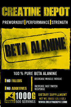 Creatine Depot Beta Alanine 1000 grams