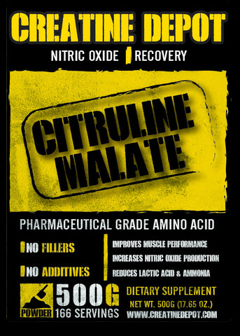 Creatine Depot Citruline Malate 500 grams