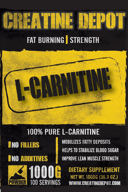 Creatine Depot L Carnitine 1000 grams