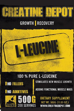 Creatine Depot L Leucine 500 grams