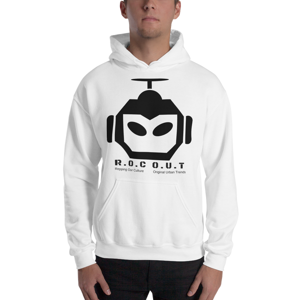 Gildan Hooded Sweatshirt - Roc Out