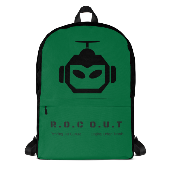Backpack Green - Roc Out