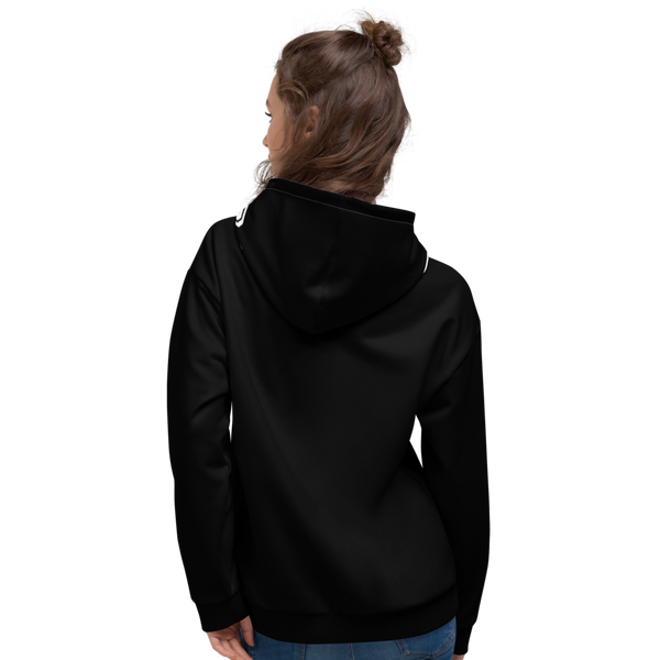 X Color Black/Black Midnight Ambiance Unisex Hoodie - Roc Out