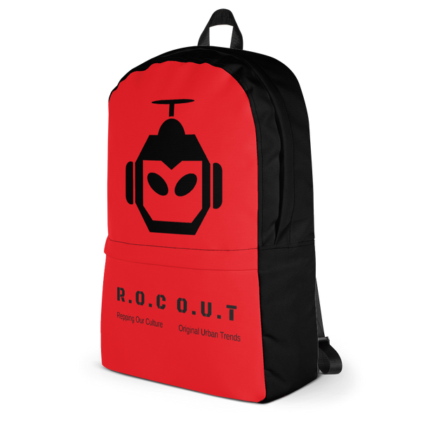 Backpack RED - Roc Out