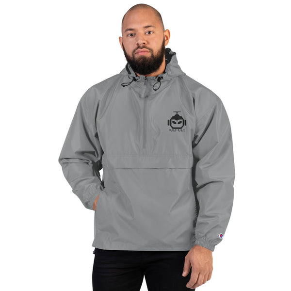 Embroidered Champion Packable Jacket - Roc Out