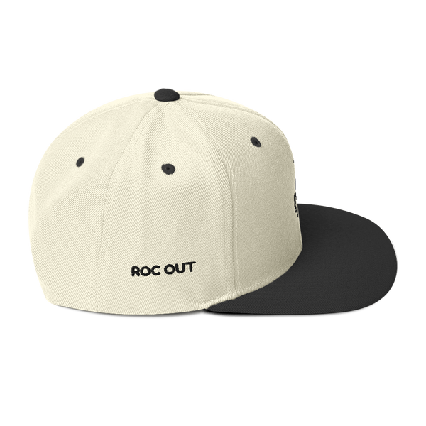 3D Puff Snapback Yupoong Hat - Roc Out