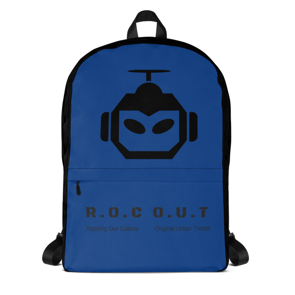 Backpack Blue - Roc Out