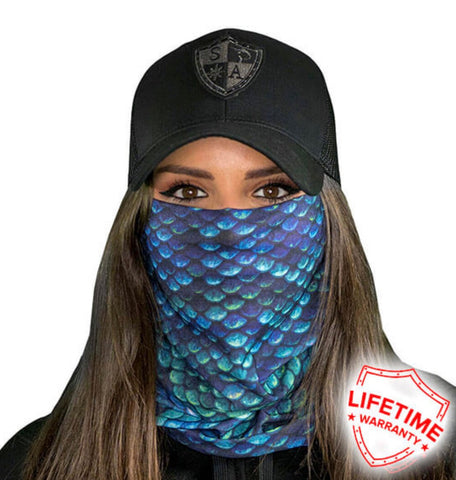 Face Shield - Mermaid