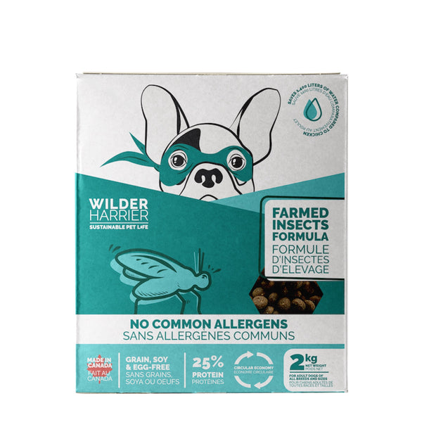 Wilder Harrier Insect Based Dog Food