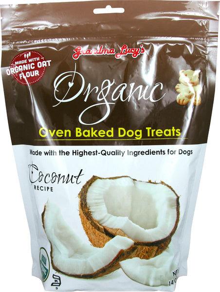 Grandma Lucy's Organic Baked Dog Treats