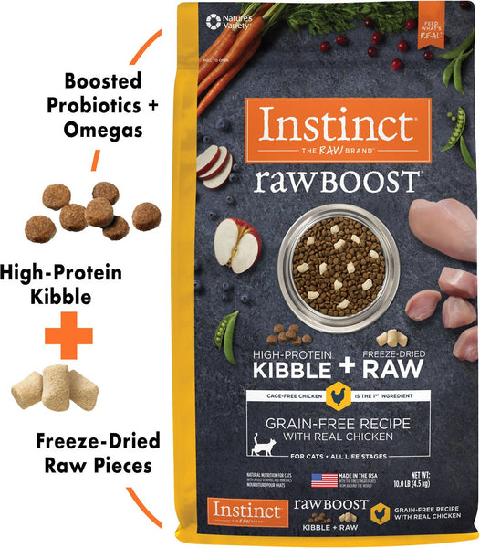 Instinct Raw Boost Rabbit Indoor Health