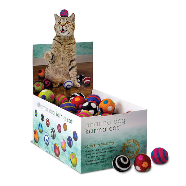 Karma Cat Wool Balls