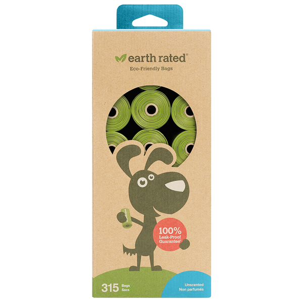 Earth Rated Eco Friendly Bags 315 count 21 rolls
