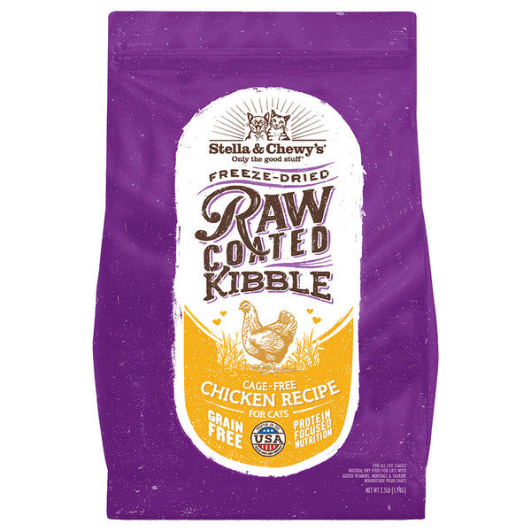 Stella and Chewy's Raw Coated Kibble